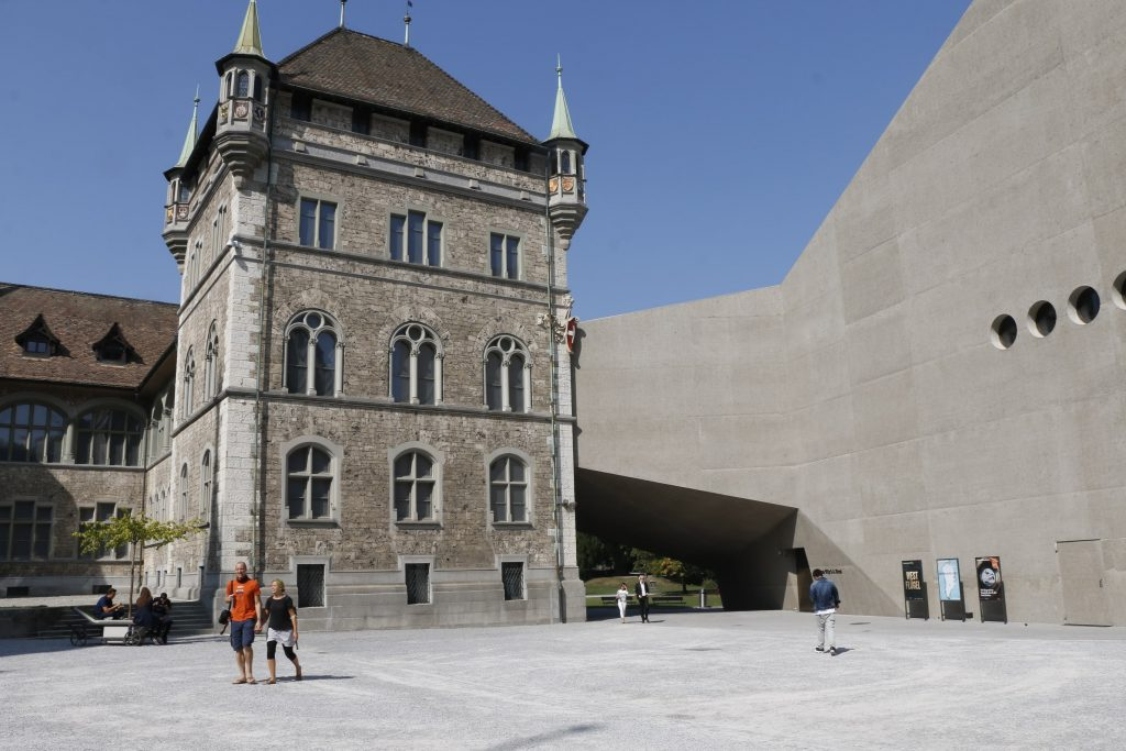 Cour du Musée National