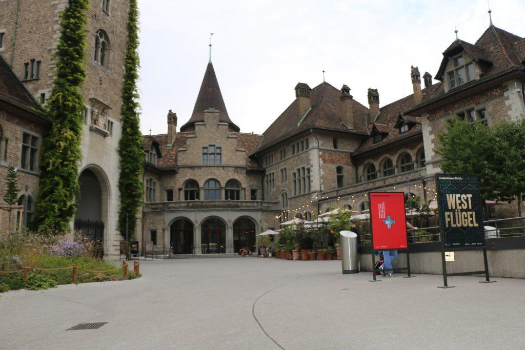 Entrée Musée national